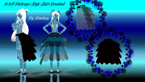 MMD Burlesque Style Skirt Download by MikuEvalon