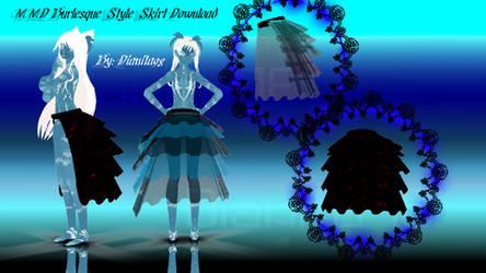 MMD Burlesque Style Skirt Download
