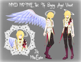 {MMD MOTME Idol} The Singing Angel: Vincent by MikuEvalon