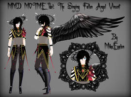 {MMD MOTME Idol} The Singing Fallen Angel: Vincent by MikuEvalon