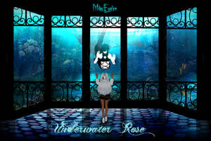 {MMD Comic} Underwater Rose by MikuEvalon