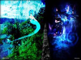 {Photo-Manipulation} Different Worlds by MikuEvalon