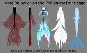 MMD Mermaid Tails Vote for Download