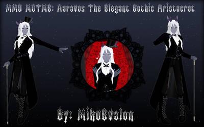MMD Motme: Aaravos The Elegant Gothic Aristocrat