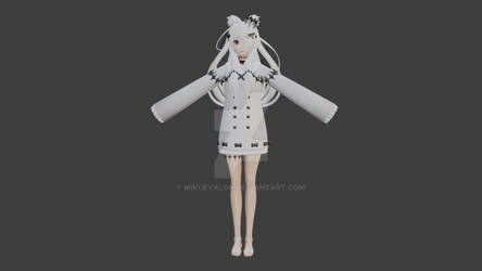 {MMD Commission} Model #1 Wip
