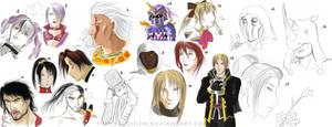 Soul Calibur doodles