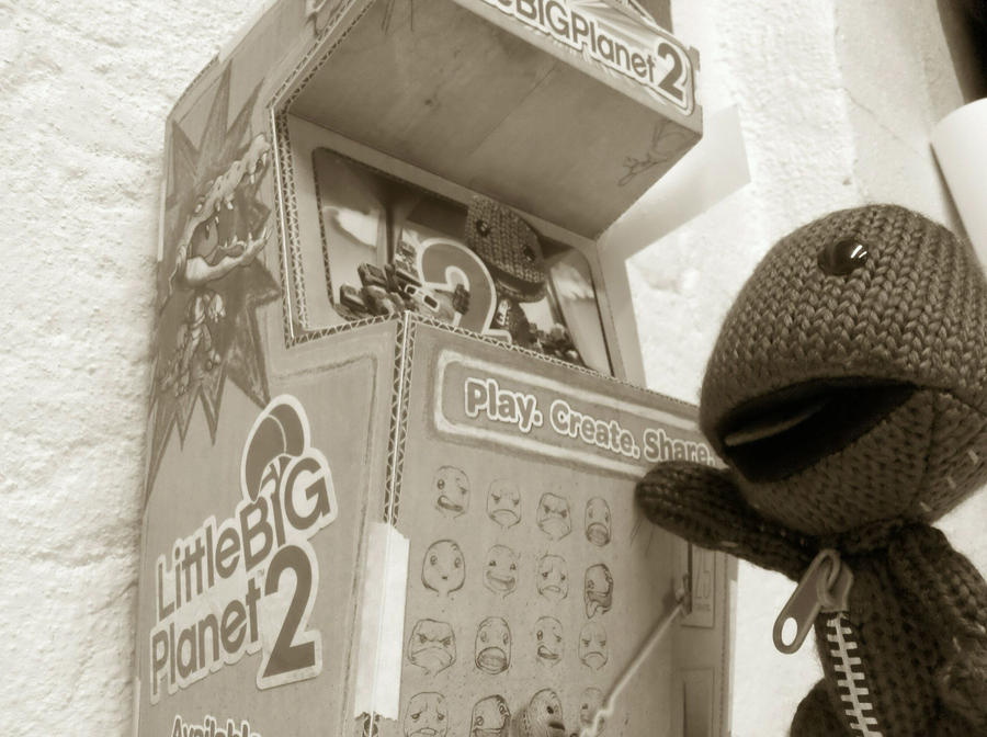 Sackboy Prize Machine by Mr-Sackboy