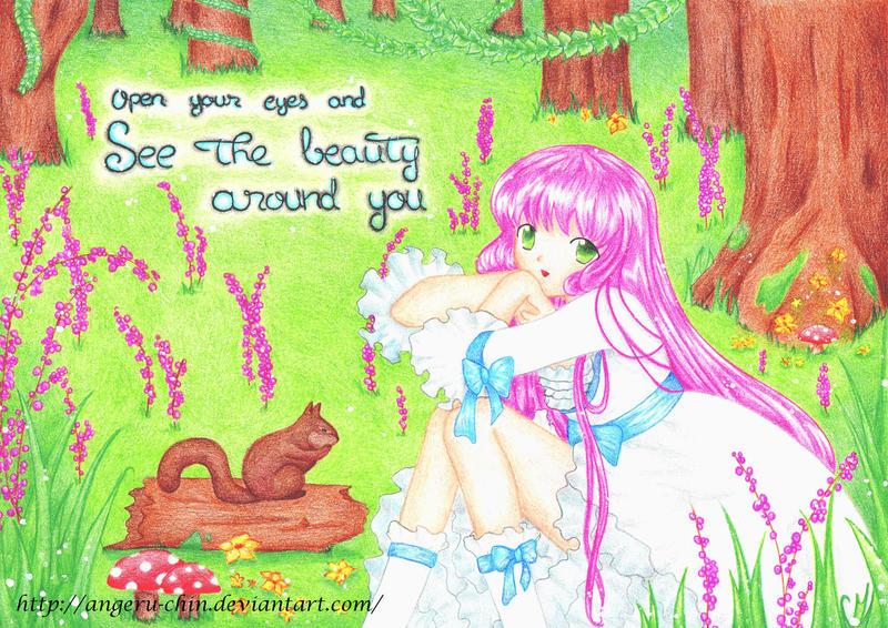 The beauty around you by Angeru-chin