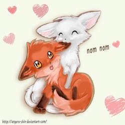 Nom nom! by Angeru-chin