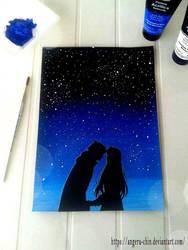 Starred Night by Angeru-chin