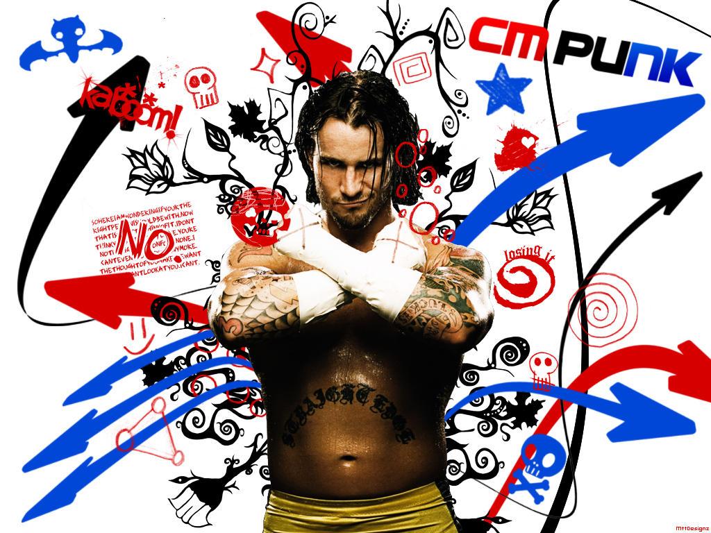 CM Punk Wallpaper by mttbtt87 on DeviantArt