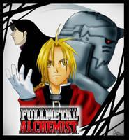 FullMetal Alchemist by maamoria