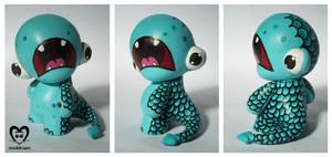 Baby Gwarp by minikikiart
