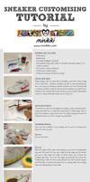 Sneaker customising tutorial