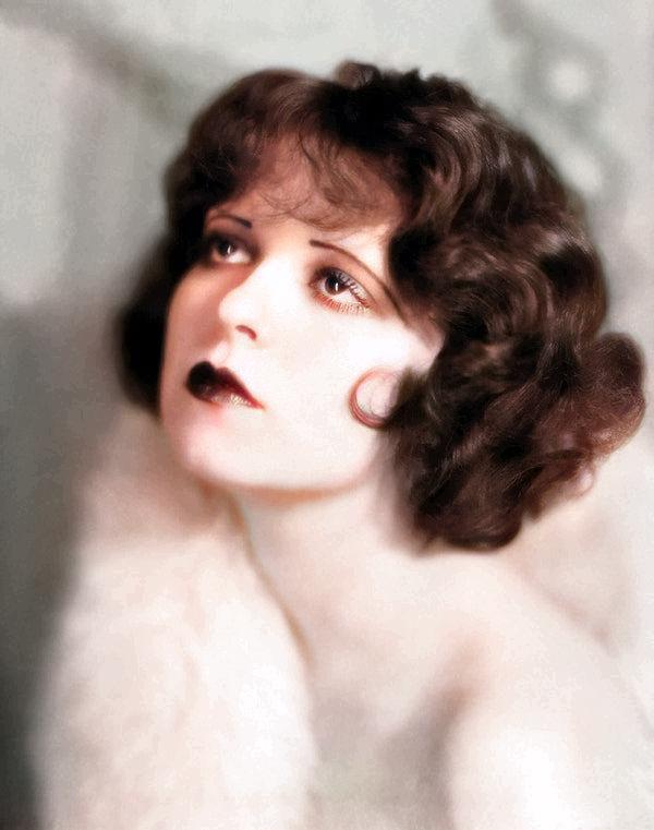 Clara Bow: Colorized