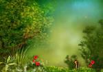 Fantasy background V06