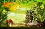 fantasy background V10