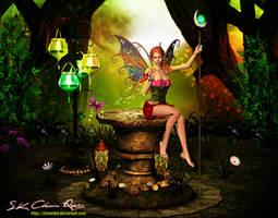3d fantasy fairy V4 by DIGI-3D