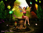 3d fantasy fairy V4