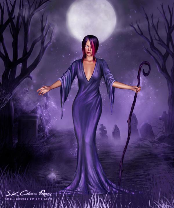 Dark night by SK-DIGIART