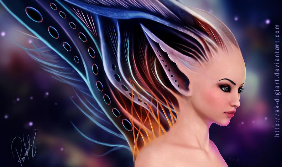 Fantasy Elf V2____! by SK-DIGIART