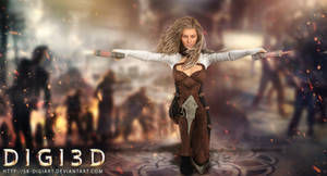 Daz3D Rendering Video game Human Characters__!