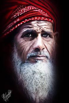 Arabian Old man
