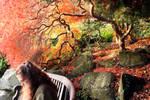 Autumn Beneath The Acer Grove by aegiandyad