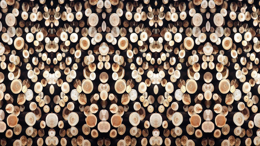 Wooden Wallpaper Stereogram by aegiandyad ...
