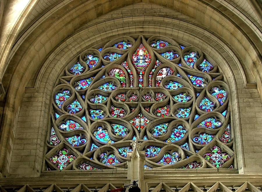 A Decorated Gothic Rose Window By Aegiandyad