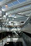 Chlorella Incorporated Office Building Atrium by aegiandyad