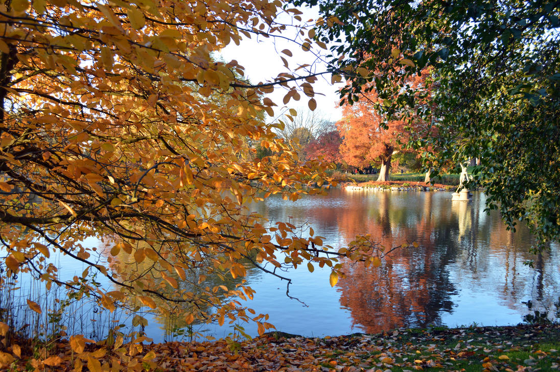 Kew Gardens Lake Side View November 11th 2012 by aegiandyad on ...