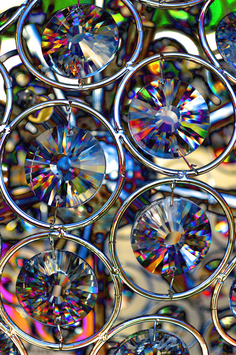 Cut Glass Close Up by aegiandyad