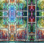 Stained Glass Windows In The Halls Of Gormenghast