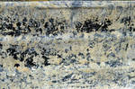 Cement Spattered Builder's Barrow Stock Texture