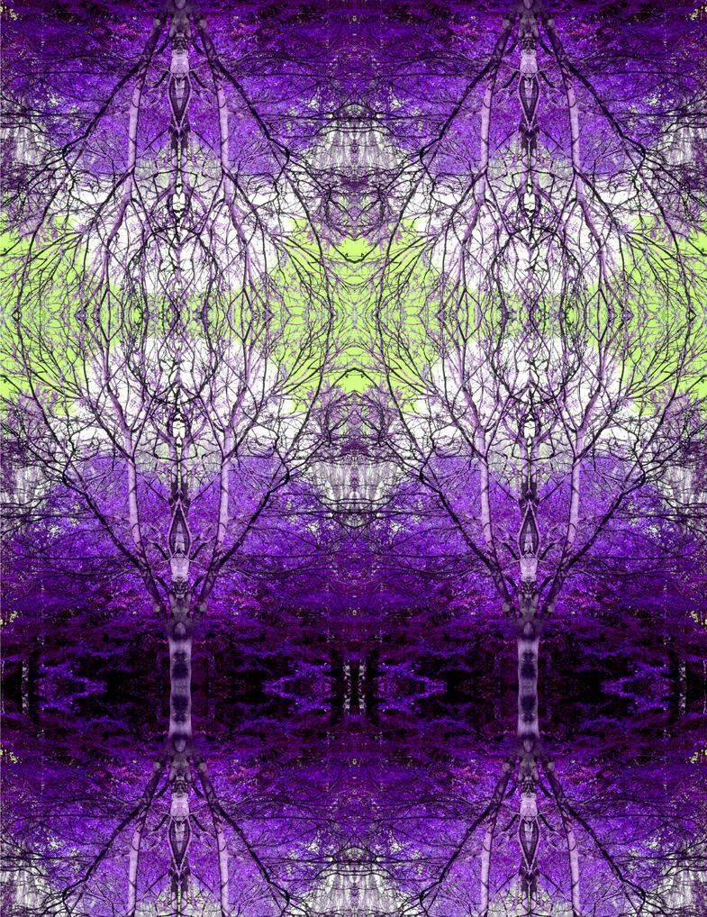 Synapses In A Purple Brain by aegiandyad