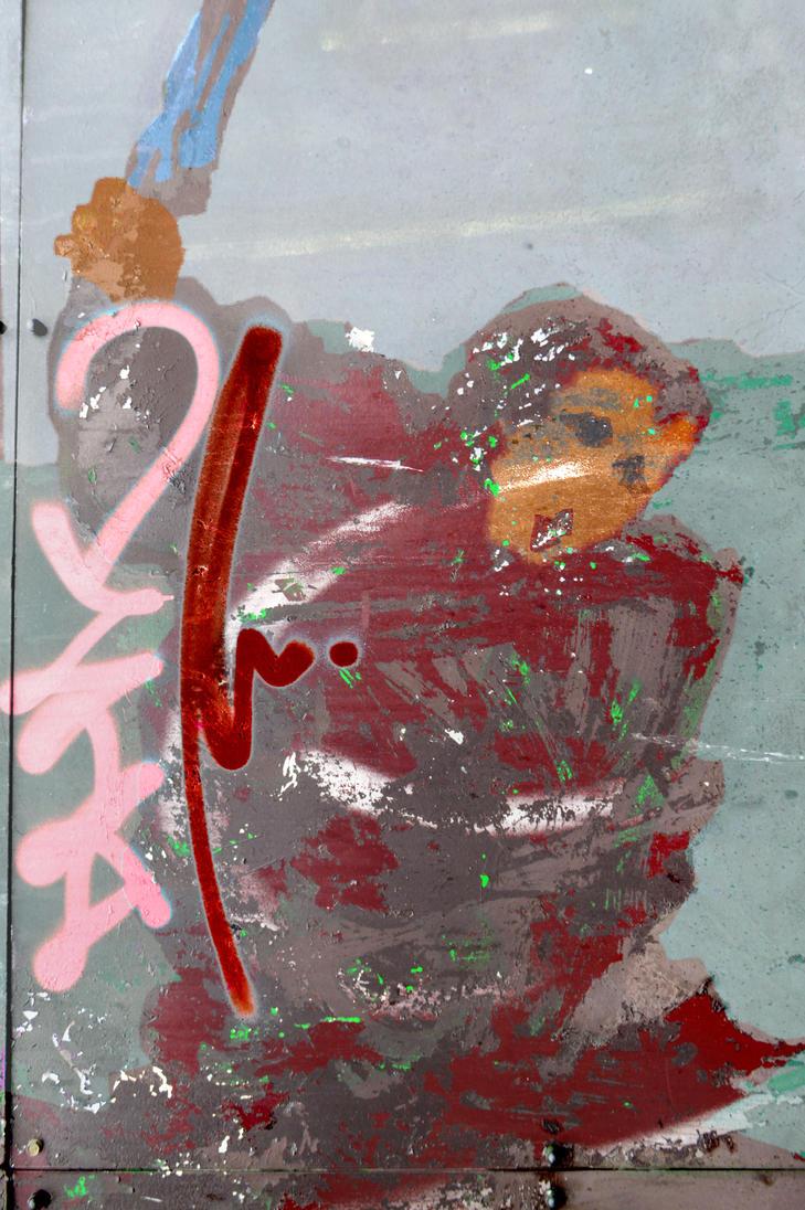 Amsterdam Samurai Graffito by aegiandyad