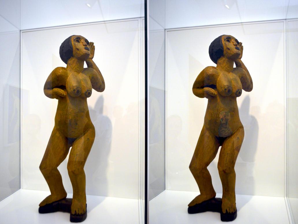 Sculpture En Bois Matissienne by aegiandyad