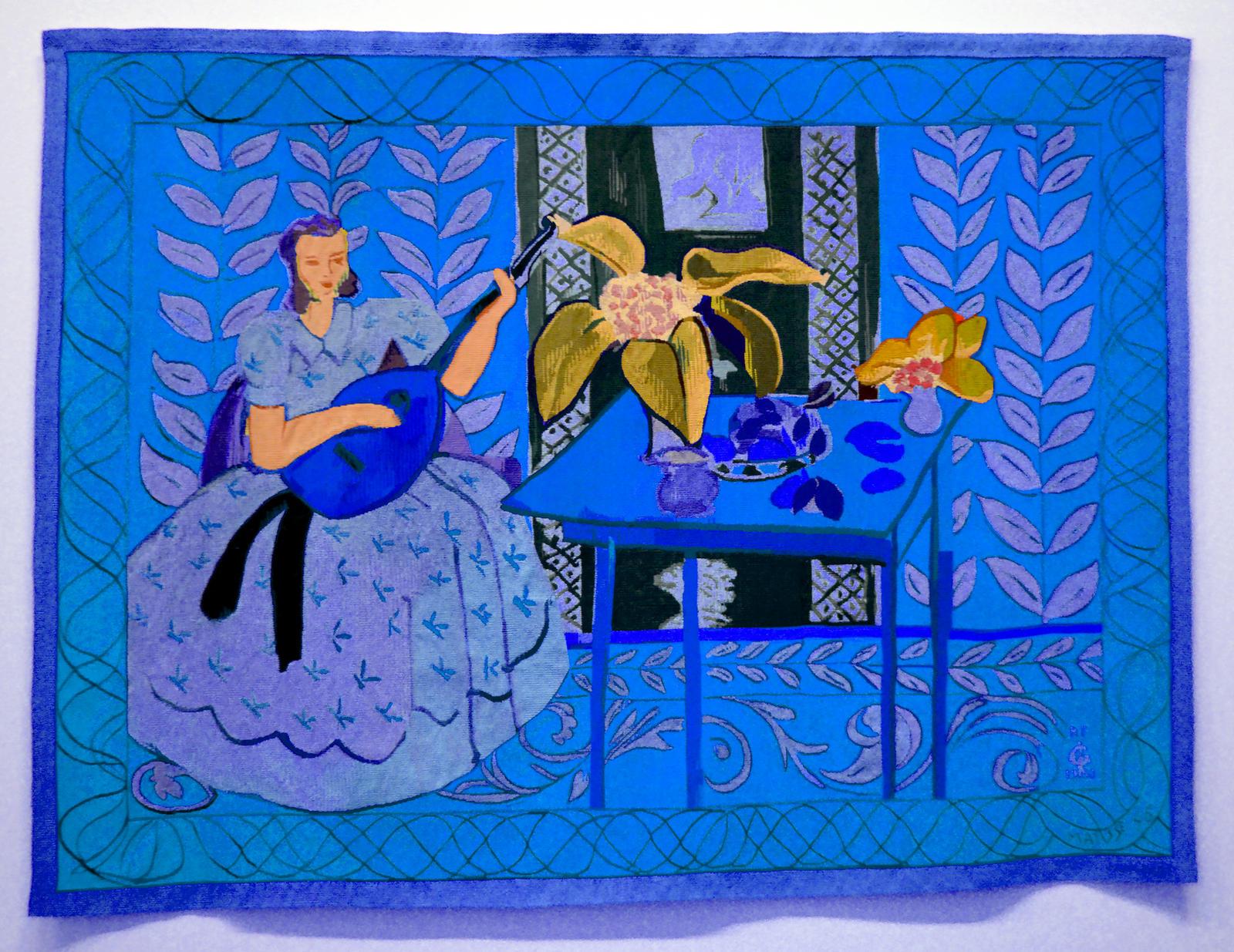 If Henri Matisse Had Had A Blue Period... by aegiandyad on DeviantArt