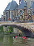 A Race On The River In Ghent