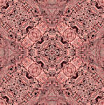 Rose Quartz Fossil Remineralisation Tile Design