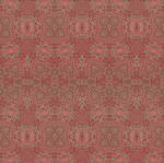 Embossed Pressed Rose Petal Gormenghast Tiling