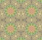 Tile Design For The Gormenghast Sea Urchin Room