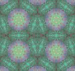 Green Gormenghast Urchin Tile Variant