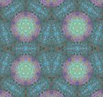 Aquamarine Gormenghast Sea Urchin Tiles