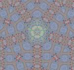 Gormenghast Pentagram Tile Design