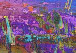 Abspressionist Sexton Blake Painting