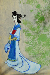 Self Portrait Of Mrs a* As A Japanese Lady