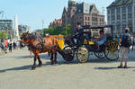 The Amsterdam Horse And Carriage Tour Begins Here