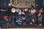 Amsterdam Rock Band In Bourbon Street Music Club